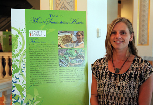 Meredith Sheperd 2013 Sustainability Award Winner