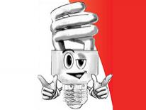 Light Bulb Character Illustration